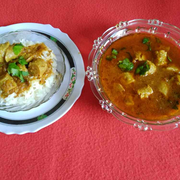 Photo of Gatte in sindhi gravy by Hanika Thadani at BetterButter