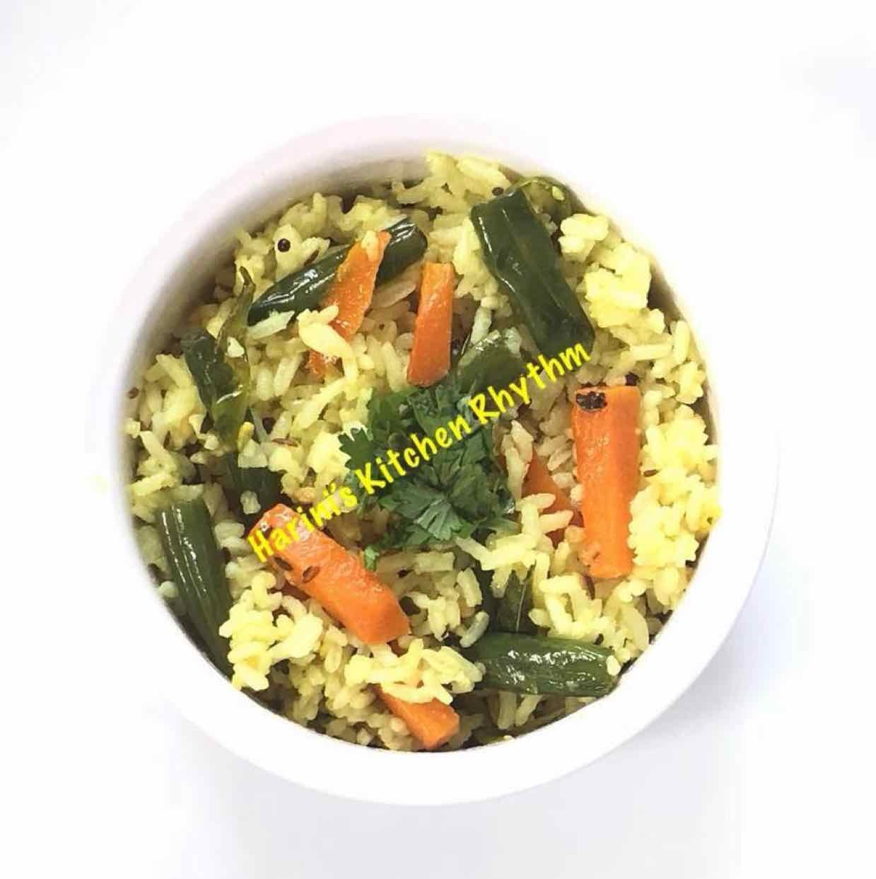 Photo of vegetable lemon rice by Harini Balakishan at BetterButter