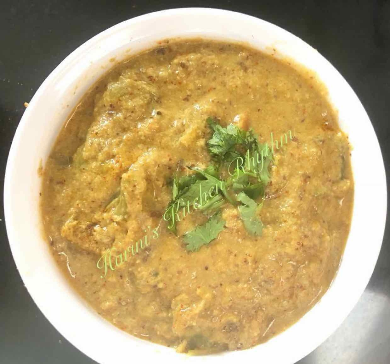 Photo of Green tomato kadagpuli by Harini Balakishan at BetterButter
