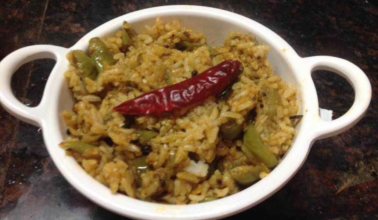 How to make वाँगी भात