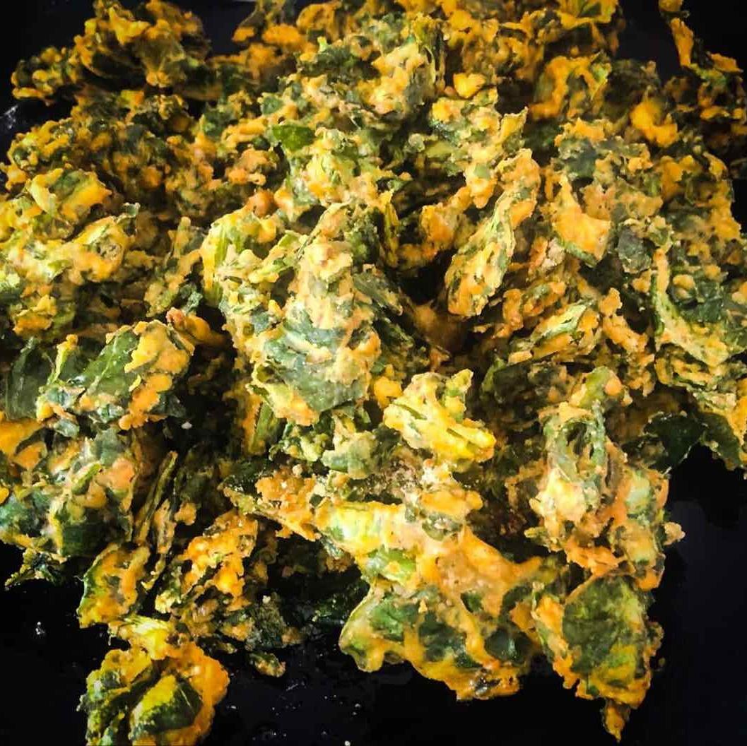 Photo of palak pakodi/ palak fritters by Harini Balakishan at BetterButter