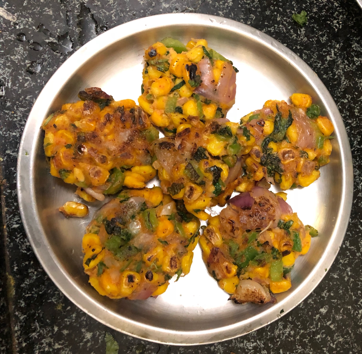 Photo of SWEET CORN FRITTERS by Harini Balakishan at BetterButter