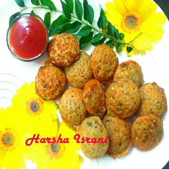 Photo of Wheat flour vegetable Appe/Appam by Harsha Israni at BetterButter