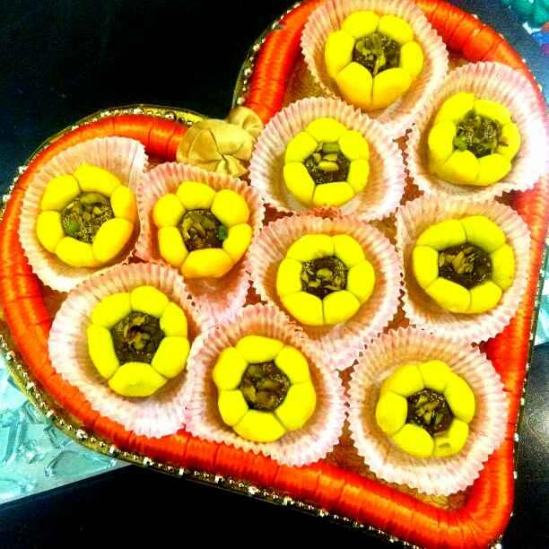 Photo of Kaju Anjeer Sunflower by Harsha Israni at BetterButter