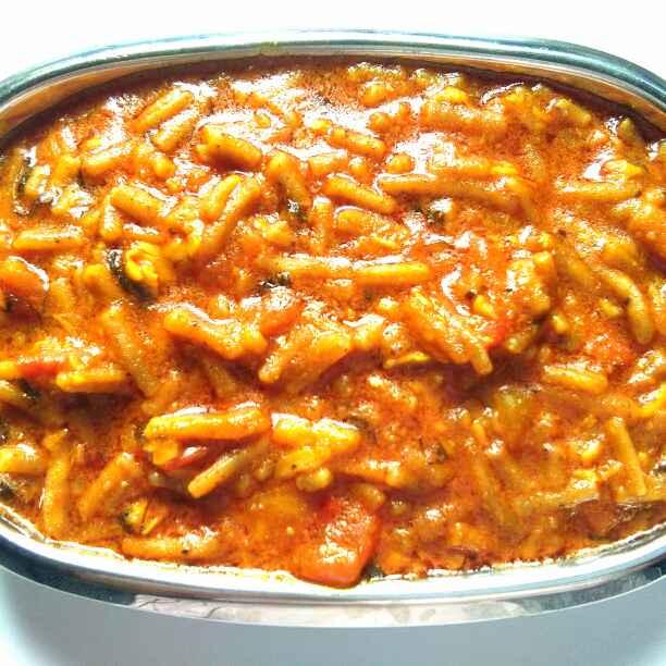 Photo of Garlic sev tomato sabji by Harsha Israni at BetterButter