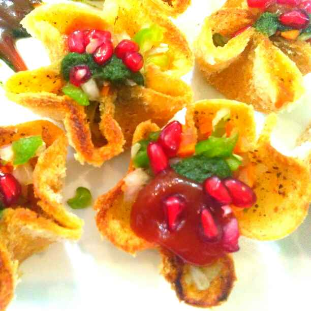 Photo of Bread Tokri chaat by Harsha Israni at BetterButter