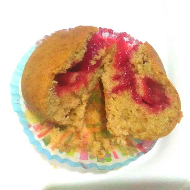 Photo of Banana mixfruit muffins by Harsha Israni at BetterButter