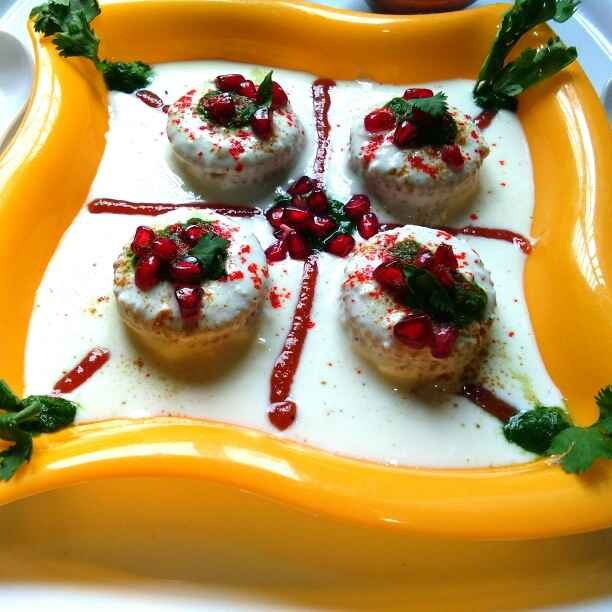Photo of Instant Dahi Vada( low calorie) by Harsha Israni at BetterButter
