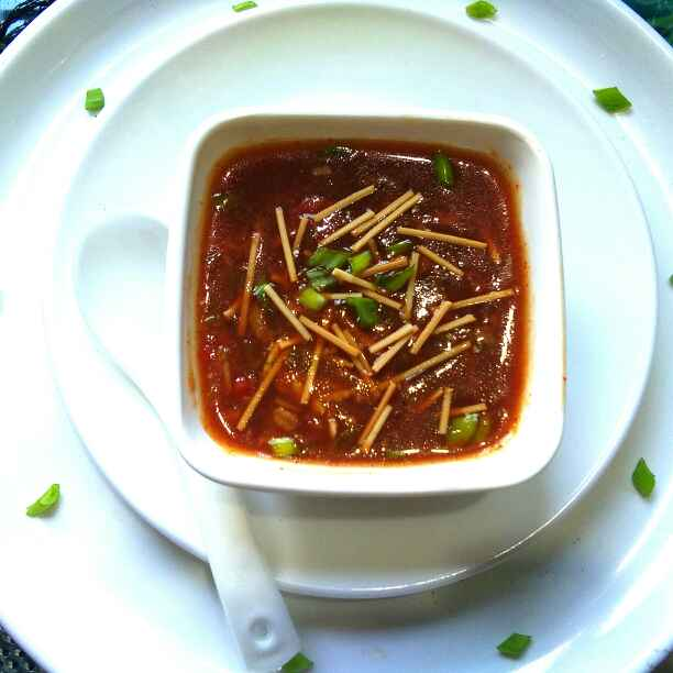 Photo of Vegetable manchow soup by Harsha Israni at BetterButter