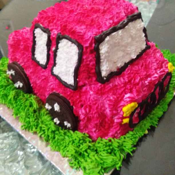 Photo of Audi car cake by Harsha Israni at BetterButter
