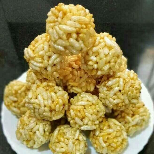 How to make Murmura Ladoo/Puffed Rice Ladoo Recipe