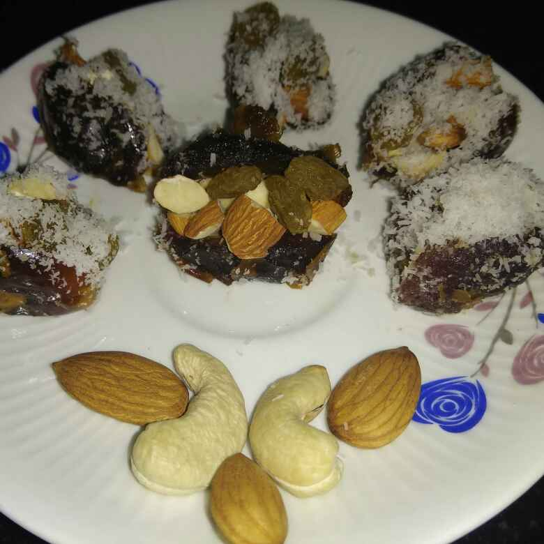 How to make Chilled Dry fruit paan