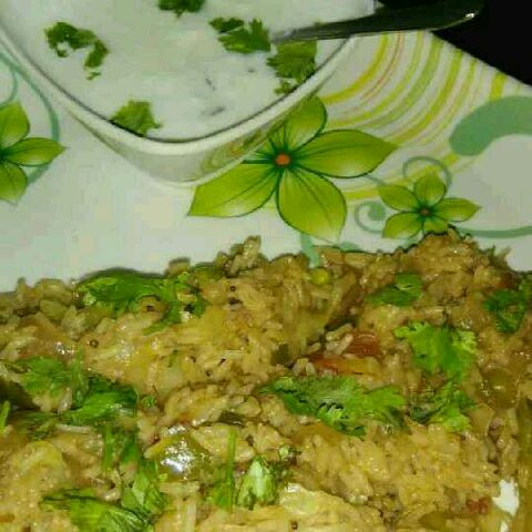 How to make Mix veg pulao with chinese sauces