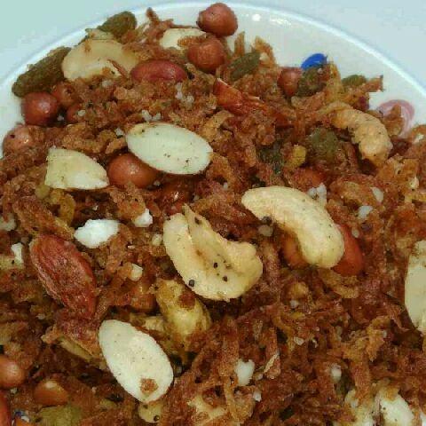 How to make Chinela bateta no dry fruit farali chevdo.