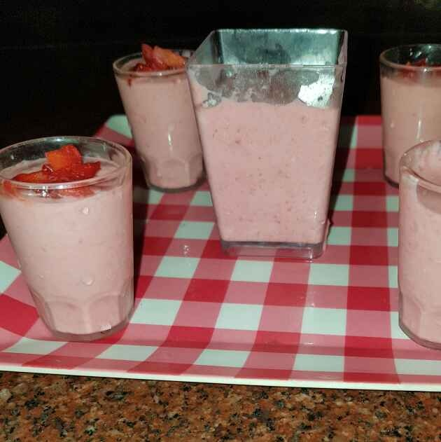 Photo of Strawberry Mousse by Fazila  at BetterButter