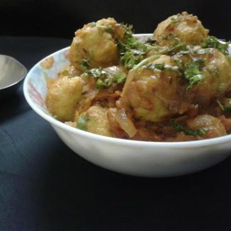Photo of Spicy green gram balls by Hem Lata Srivastava at BetterButter