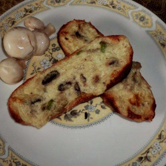 How to make Mushrooms toast