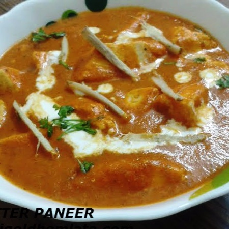 How to make Restaurant style butter paneer