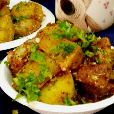 How to make Kurkure aloo chat