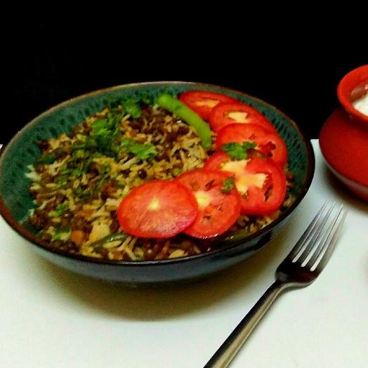 Photo of Masoor and beans biryani by Hem Lata Srivastava at BetterButter
