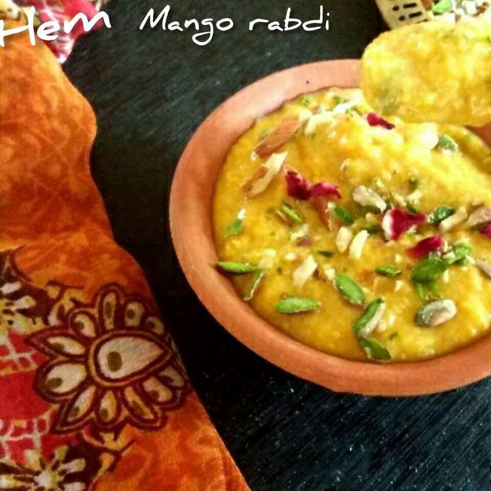 How to make mango Rabri