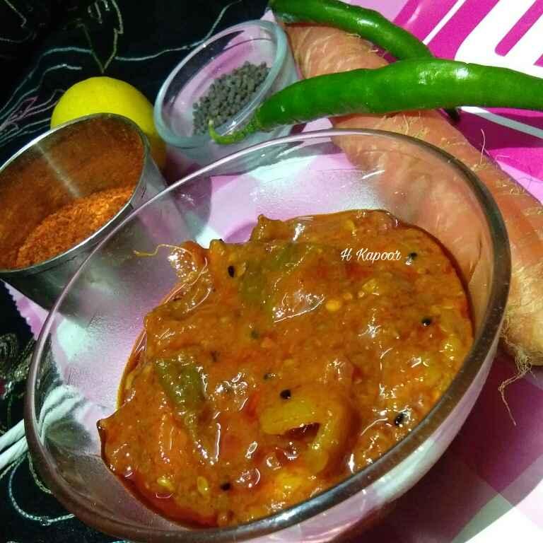 How to make Punjabi mixed pickle