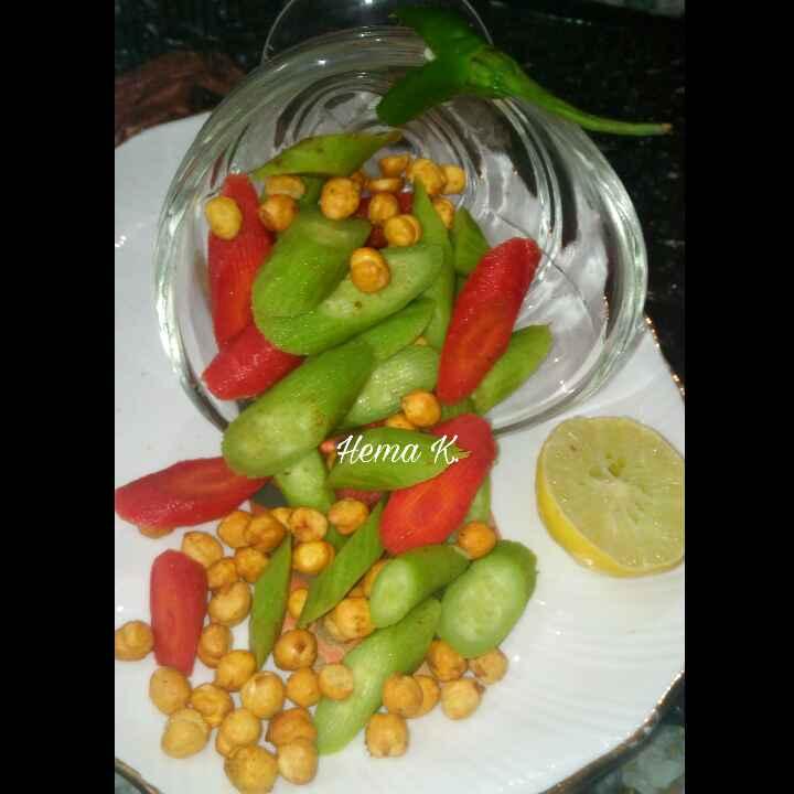 How to make Chana Kakdi Salad