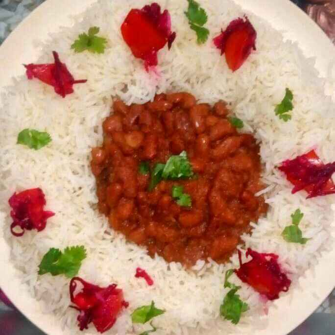 How to make Kidney Beans curry and Rice (Rajma chawal)