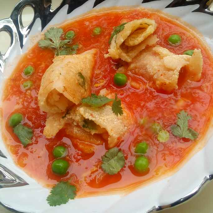 Photo of Chilla floating in Red River by Hema Khanna at BetterButter