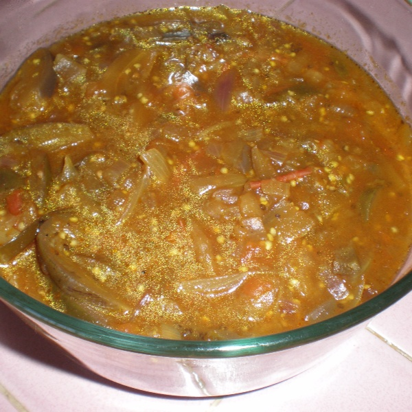 How to make Malaysian Brinjal Curry