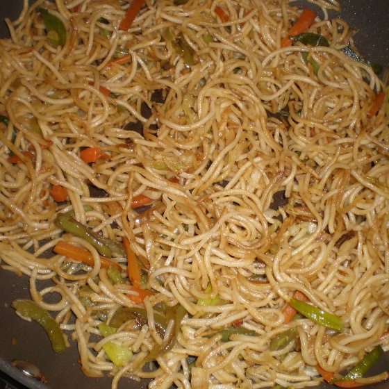 How to make Chinese Vegetable Noodles
