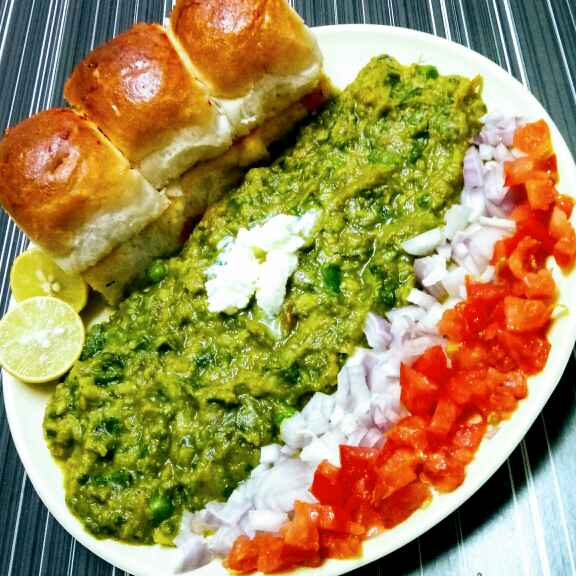 Photo of Green Pavbhaji by Hetal Sevalia at BetterButter