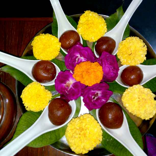 Photo of Aate ke gulabjambu by Hetal Sevalia at BetterButter