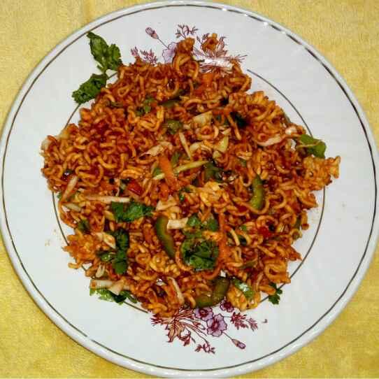 How to make Meggi bhel