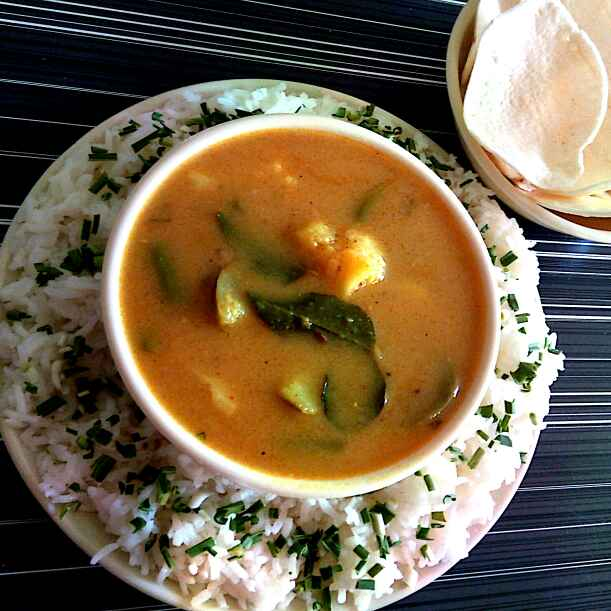 Photo of Sindhi kadhi chaval by Hetal Sevalia at BetterButter