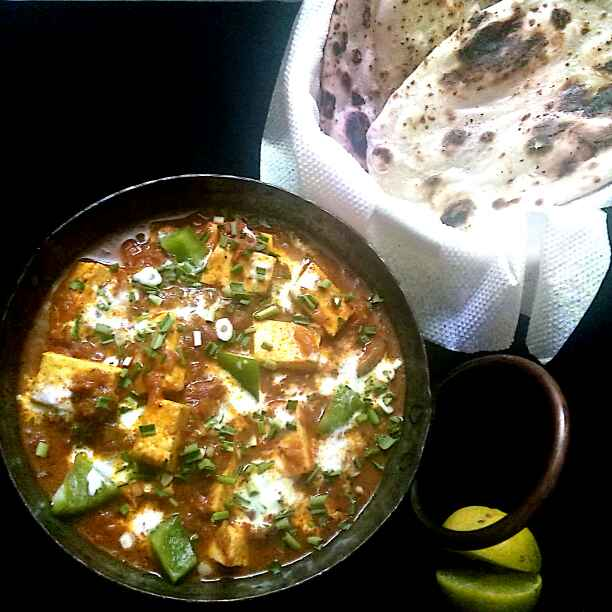 How to make Paneer kadhai