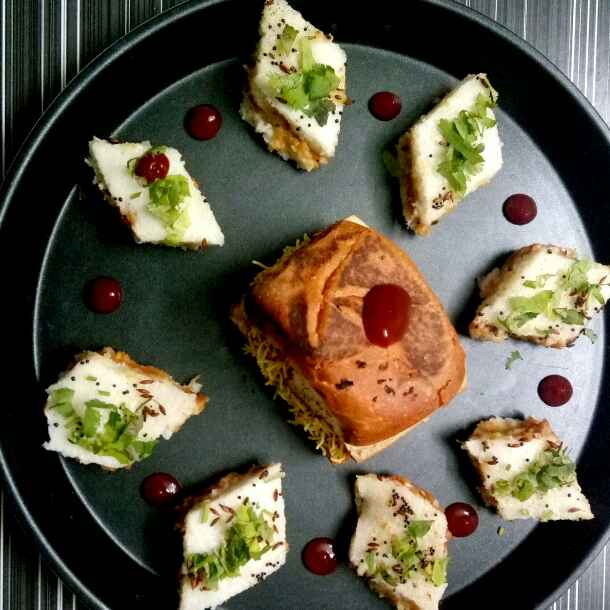Photo of Dabeli dhokla by Hetal Sevalia at BetterButter