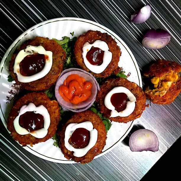 Photo of Stuffed onion ring by Hetal Sevalia at BetterButter