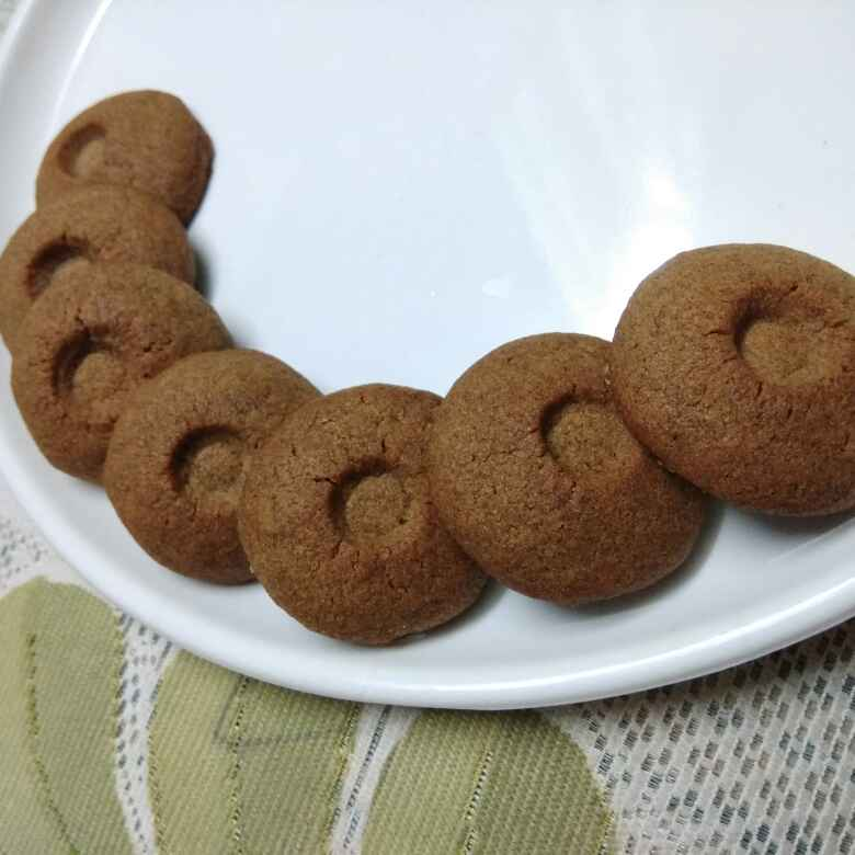 Photo of Ragi cookies with jaggery by Hima Harikrishnan at BetterButter