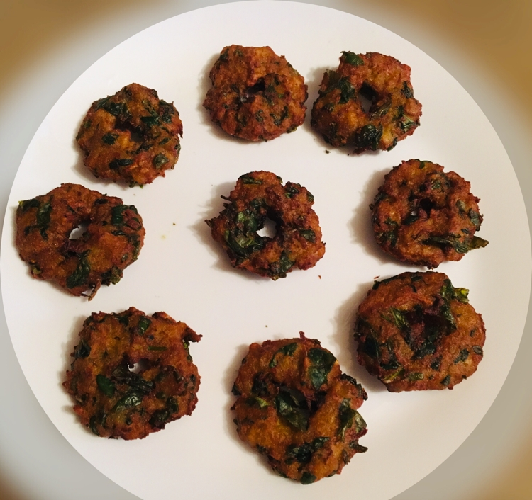 Photo of veggi masala vada by Himabindu  at BetterButter