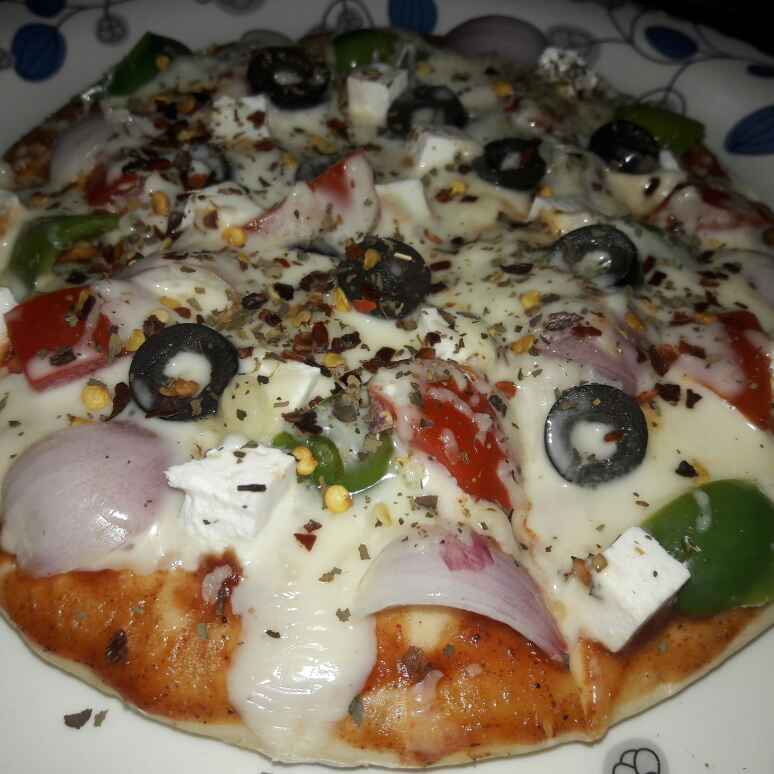 Photo of Paneer pizza by Himani Swami at BetterButter