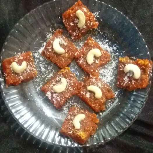 Photo of tomato burfi by Hiral Pandya Shukla at BetterButter
