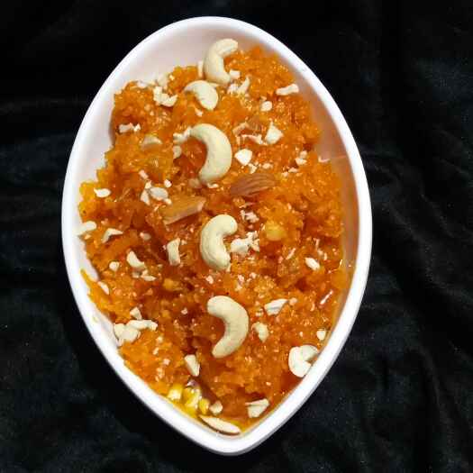 Photo of carrot halwa by Hiral Pandya Shukla at BetterButter