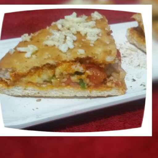 Photo of sandwich pizza by Hiral Pandya Shukla at BetterButter