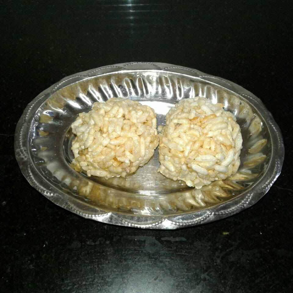 Photo of Mamra ladoo by Hiral Hemang  Thakrar at BetterButter