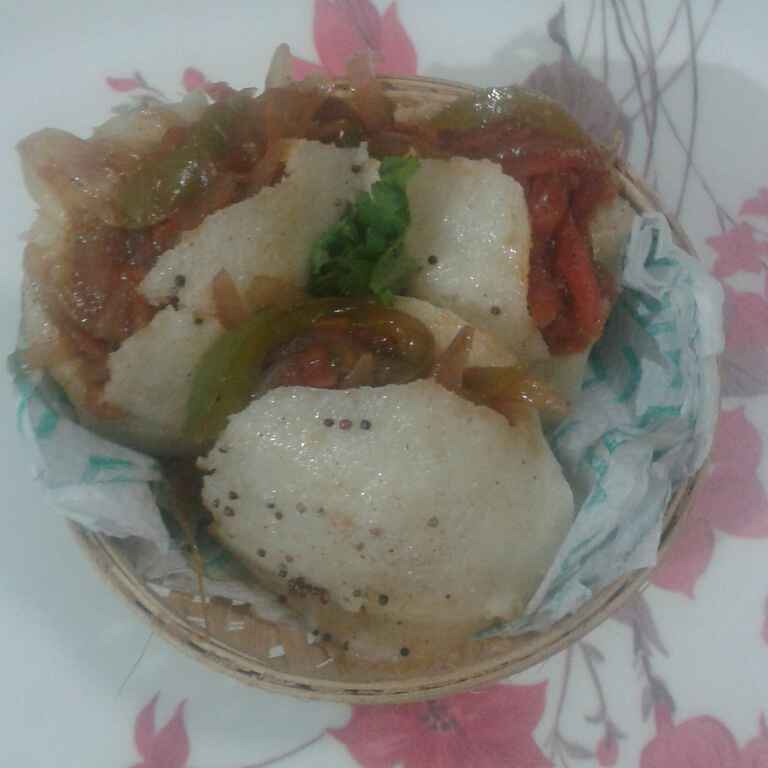 How to make Helthy veg idli kulcha