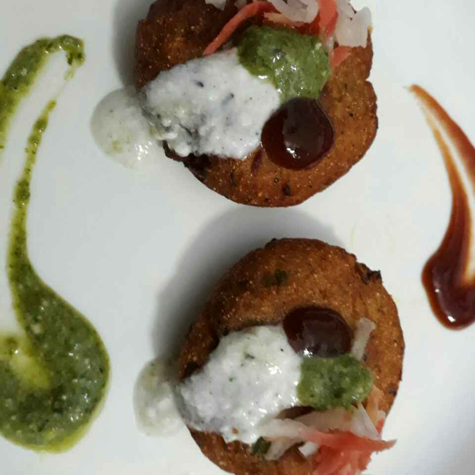 Photo of Aalu tikki chaat by Hiteshi Bassi at BetterButter