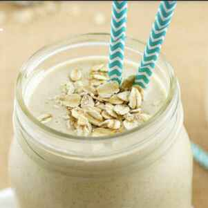 Photo of Peanut Butter Oats Smoothie by Hiteshi Bassi at BetterButter