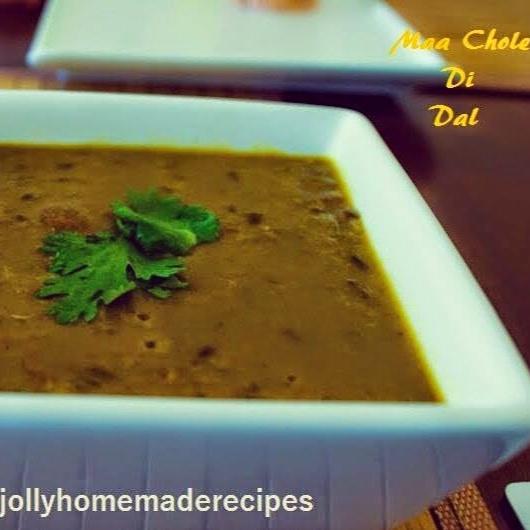 How to make Punjabi Maa Choleyan Ki Dal Recipe
