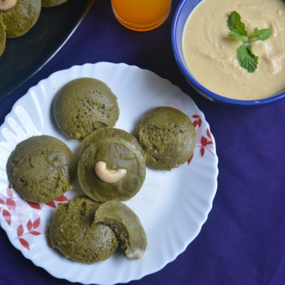 How to make Healthy Spinach Idli